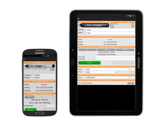LEVELOGGER App Interface